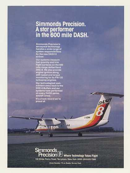 De Havilland Dash 8 Aircraft Simmonds Precision (1983)