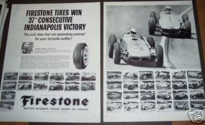 Indianapolis 500 Winners 1924 – Firestone (1960)