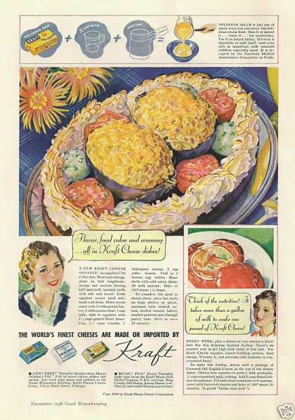 Kraft Worlds Finest Cheeses (1936)