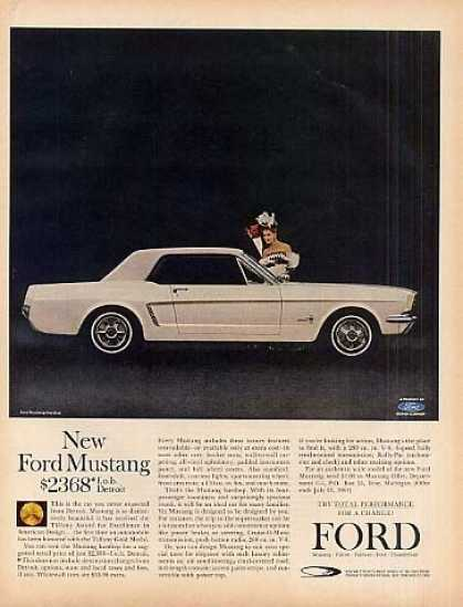 Ford Mustang Car (1964)