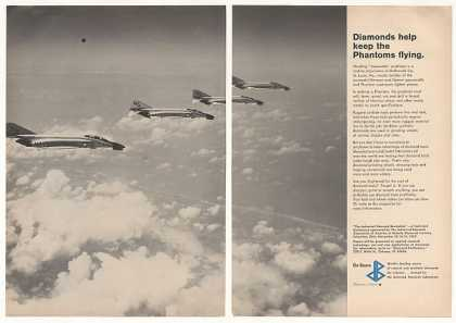 McDonnell Phantom Aircraft De Beers Diamonds 2P (1967)