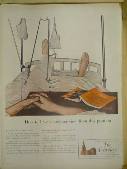 The Travelers Insurance Co. Hospital bed theme (1953)