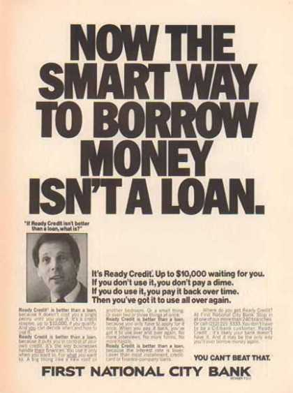 First National City Bank – Ready Credit (1975)