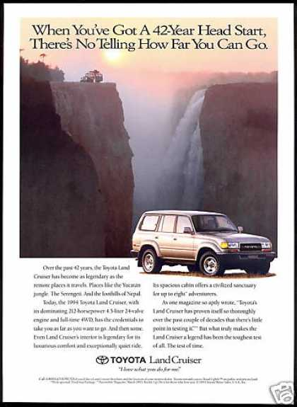 Toyota Land Cruiser Waterfall Photo (1994)
