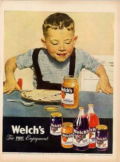 Welch's Ad Boy (1947)