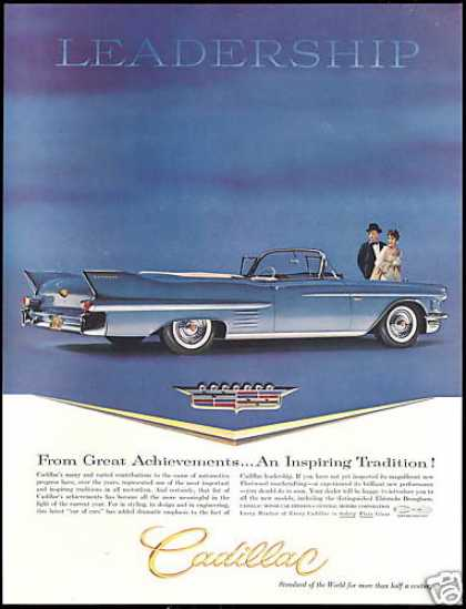 Cadillac Convertible Car Leadership Vintage (1958)