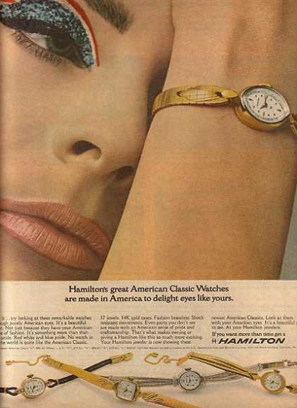Hamilton's Ladies Watches (1965)