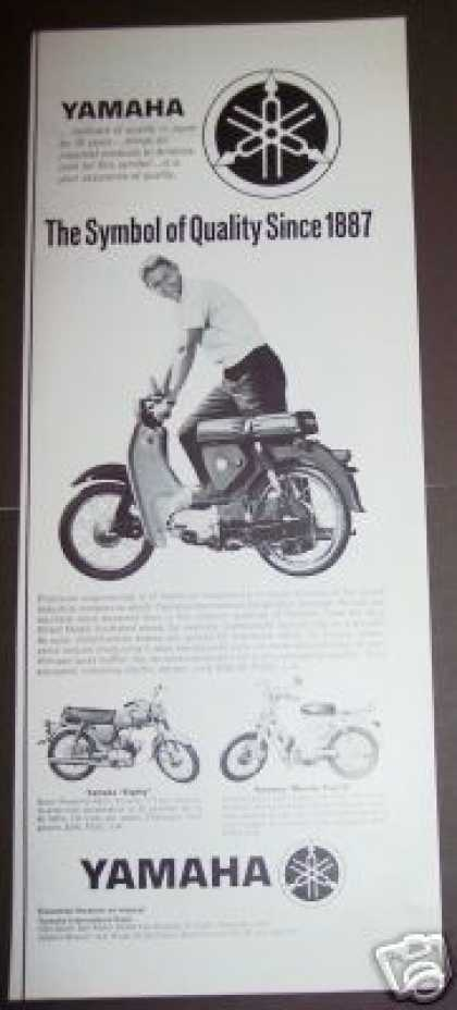 Original Yamaha Motorcycle (1963)