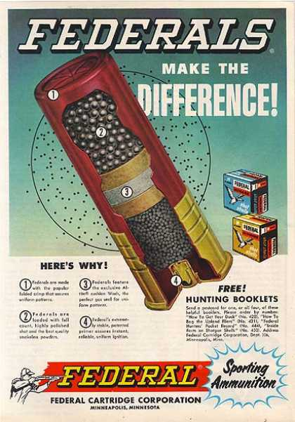 Federal's Sporting Ammunition (1962)
