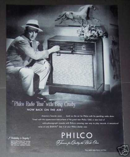 Bing Crosby Philco Radio Original (1947)