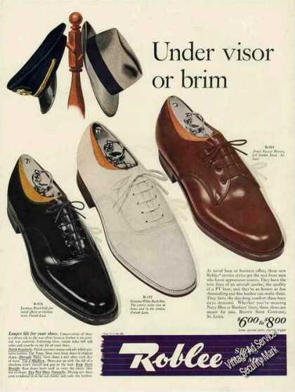 Roblee Shoes for Men Fashion (1943)