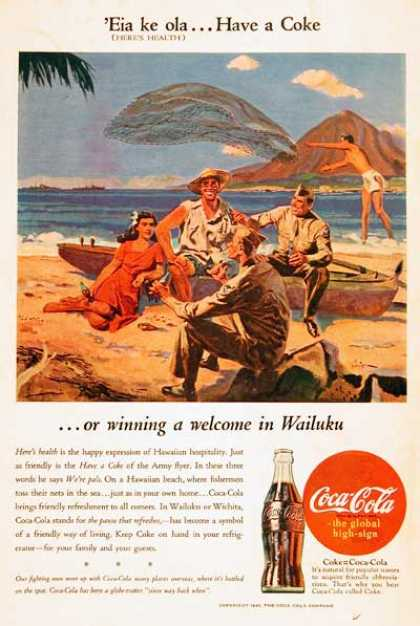 Coca Cola Hawaii (1945)
