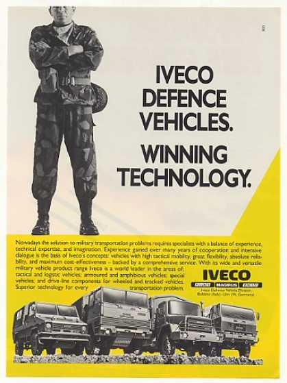 Iveco Military Vehicles Trucks (1986)