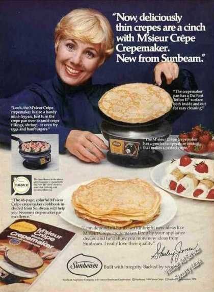 Shirley Jones Photo Sunbeam M'sieur Crepe (1976)