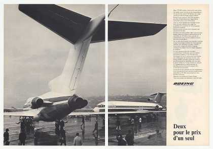 Boeing 727-200 Photo 2-Page French (1972)
