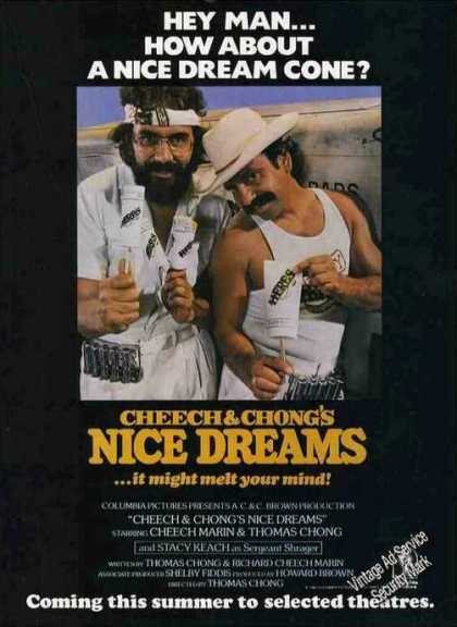 "Cheech & Chong ""Nice Dreams"" Pre-release Movie (1981)"