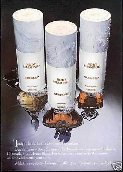 Guerlain Body Shampoo Photo (1975)