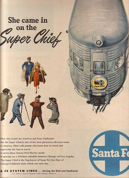 Santa Fe's Super Chief (1948)