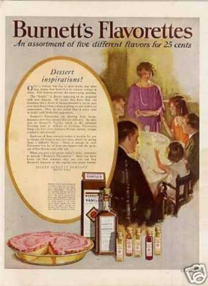 Burnett's Flavorettes Color (1923)