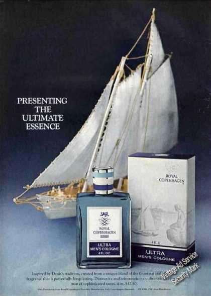 Royal Copenhagen Ultra Men's Cologne (1975)