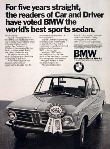 BMW Coupe (1972)