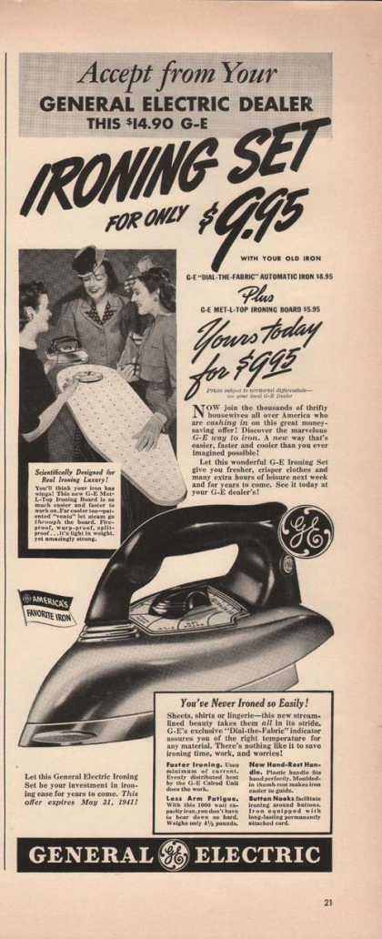 General Electric Iron and Board (1941)