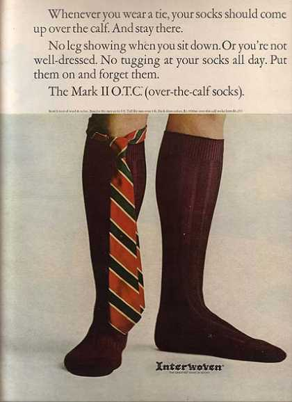 Interwoven's Mark II O.T.C. Socks (1964)