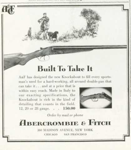 Abercrombie & Fitch Knockabout Shotgun (1961)