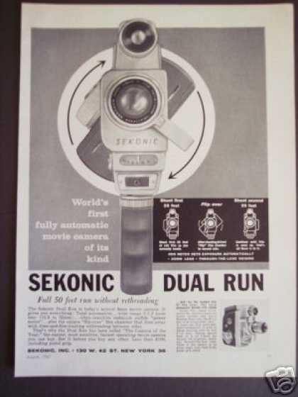 Original Sekonic 8mm Auto Movie Camera (1962)