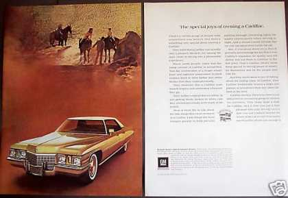 Cadillac Gold Sedan Deville for 1972 2pg Photo (1971)
