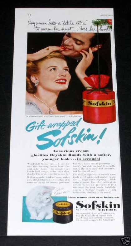 Sofskin Creme, Gift-wrapp (1949)