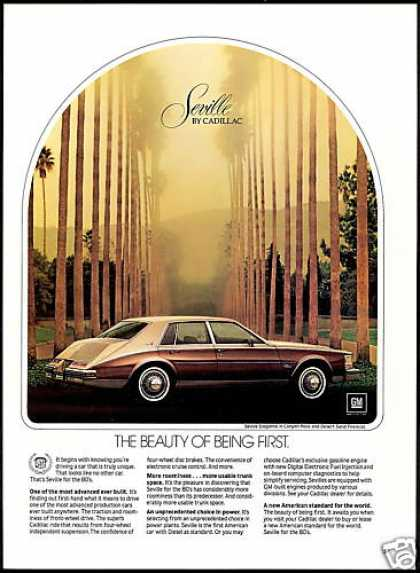 Cadillac Seville Two Tone Car Photo (1980)