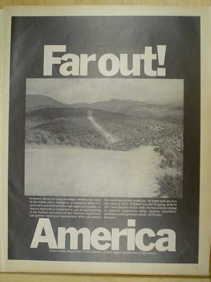 Far Out America. United State Department of the Interior (1970)