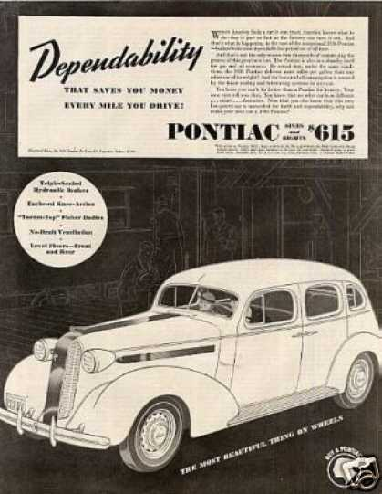 Pontiac Deluxe Six 4-door Sedan (1936)