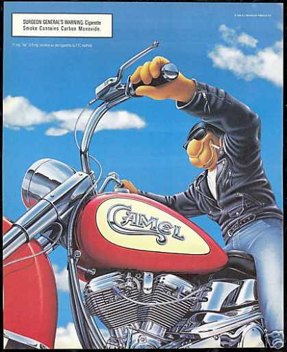 Joe Camel Cigarette Motorcycle (1996)