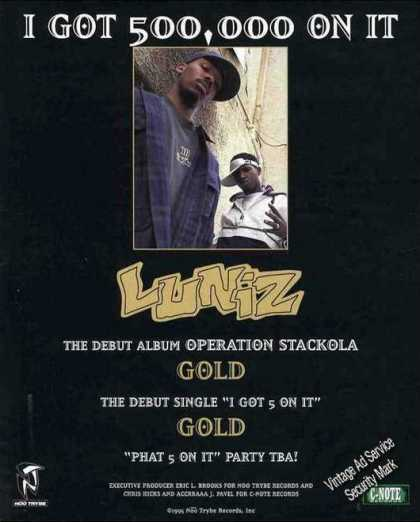 Luniz Collectible Music Promo (1995)