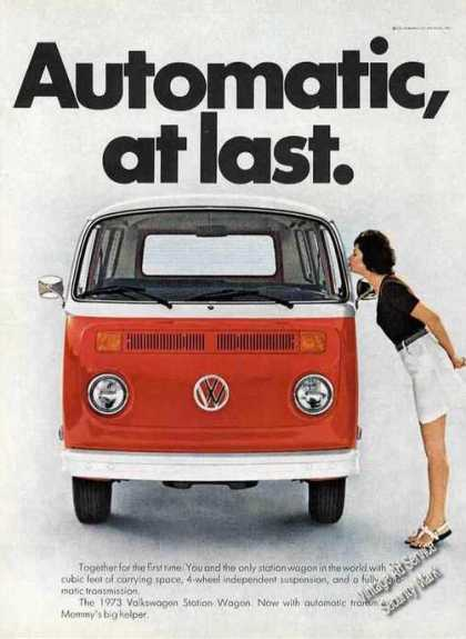 "Vw Volkswagen Station Wagon ""Automatic at Last"" (1973)"