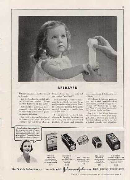 Johnson & Johnson Bandages (1936)