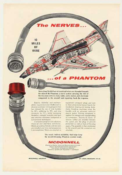 McDonnell Phantom Aircraft Electrical Wire (1963)