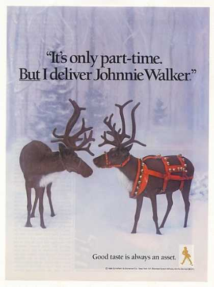 '88 Reindeer Deliver Johnnie Walker Scotch (1988)