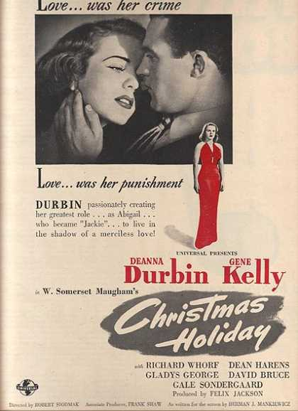 Christmas Holiday (Deanna Durbin and Gene Kelly) (1944)