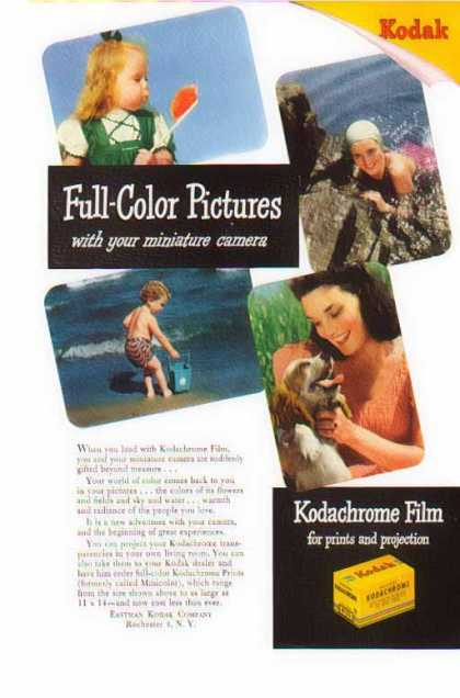 Kodak Kodachrome Film – Kodak Full Color Pictures (1946)