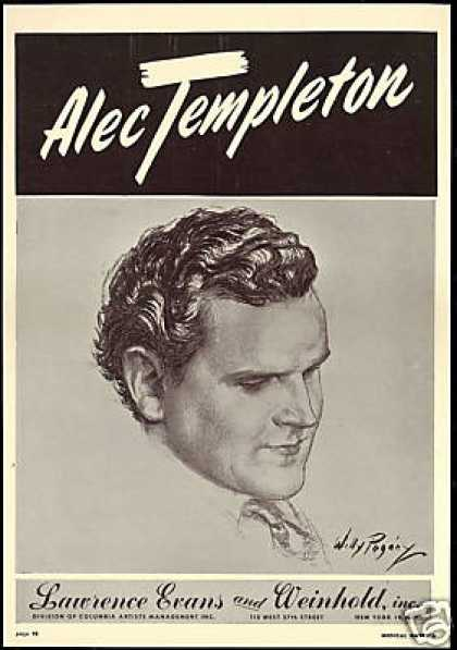 Alec Templeton Art Booking Company (1949)