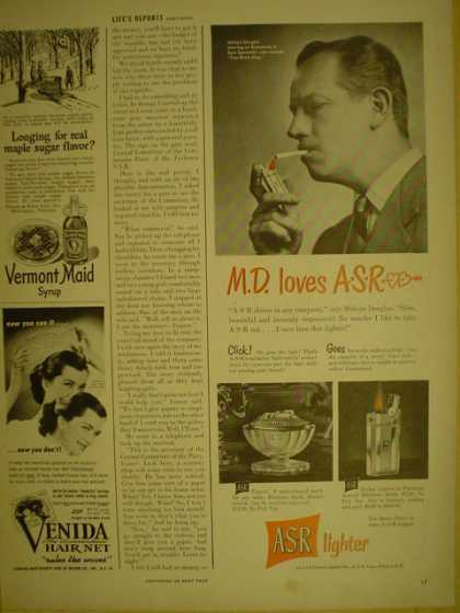 ASR Lighter M.D. Loves ASR (1949)