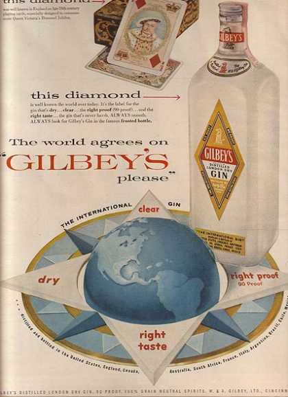 Gilbey's (1956)
