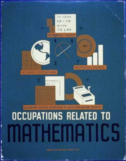 Occupations related to mathematics. (1937)