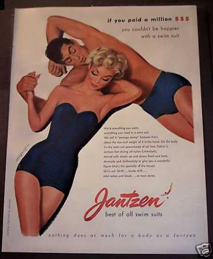 Jantzen Swim Suits Trunks (1953)