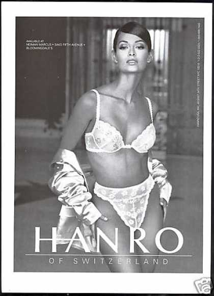 Hanro Lingerie Switzerland Pretty Woman (1996)