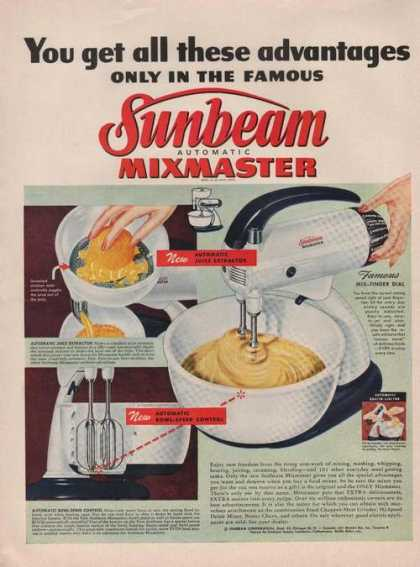 Sunbeam Automatic Mixmaster (1949)