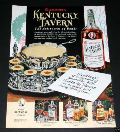 Kentucky Tavern Whiskey, Silver (1939)